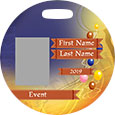 Full Color Round Bag Tag (Back)