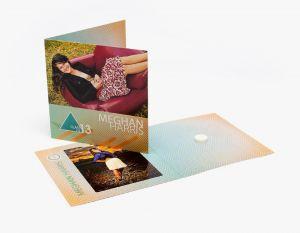 5x5 Single Fold CD/DVD Cover