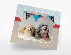 5x5 Photo Greeting Card