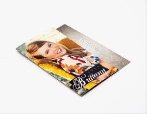 4x5½ Single Fold Reveal Greeting Card (12)