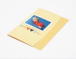 5x7 Single Fold Reveal Greeting Card (12)