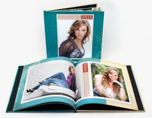 11x8½ Hard Cover Book with Photo Cover (Text Pages)