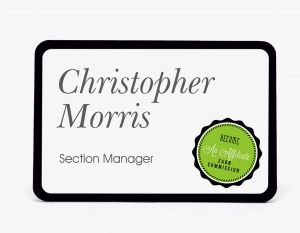 3x2 Name Badge (Rectangle)