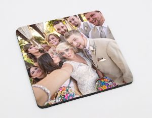 4'' Neoprene Coasters (4) - Square