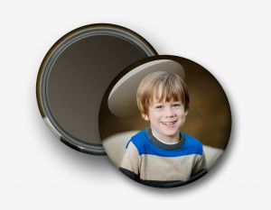 3½'' Photo Magnet Button
