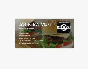 Business Cards - Metal (10)
