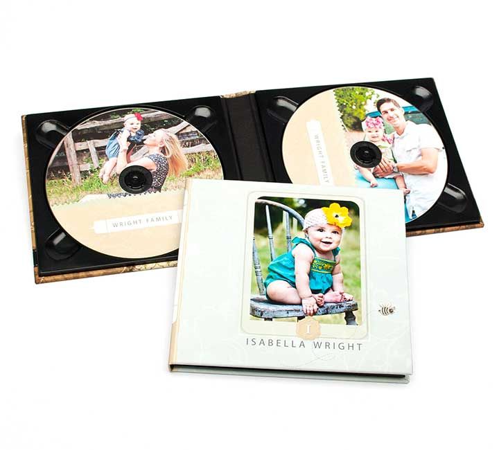 Full Color CD/DVD Cases