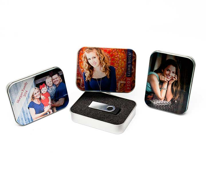 Full Color USB Tins