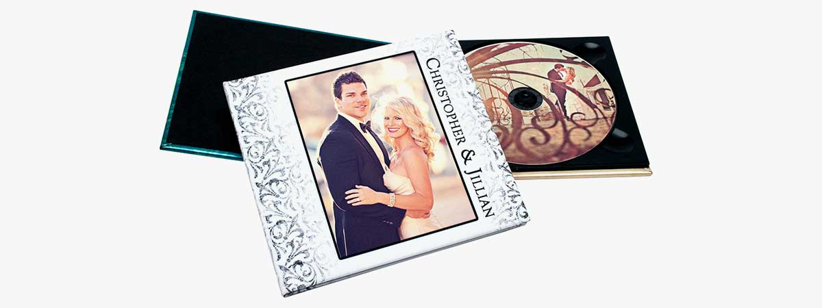 Full Color CD/DVD Wedding Case