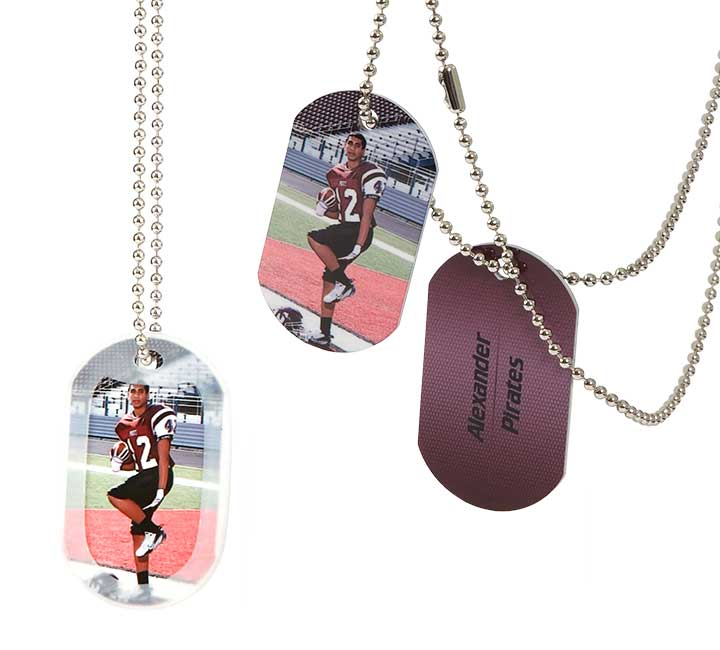 Full Color Dog Tag