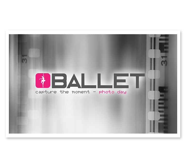 Full Color Ballet Moneybag