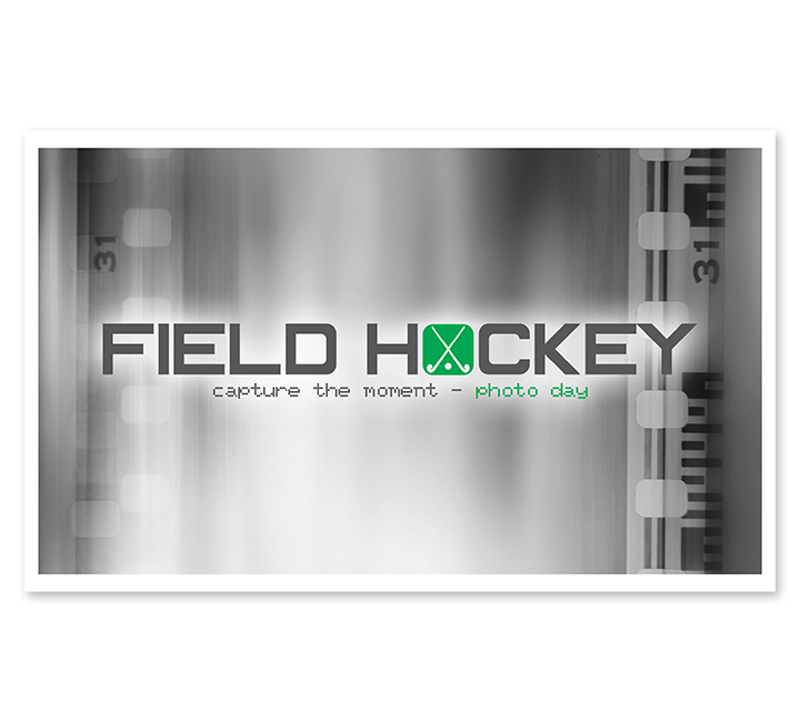 Full Color Field Hockey Moneybag