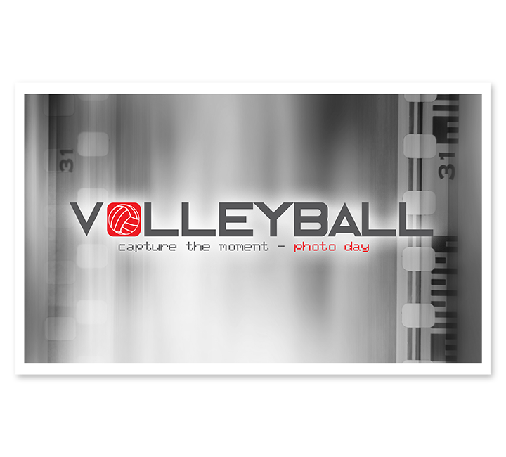 Full Color Volleyball Moneybag