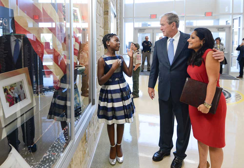 George W. Bush Elementary Dedication Exhibit