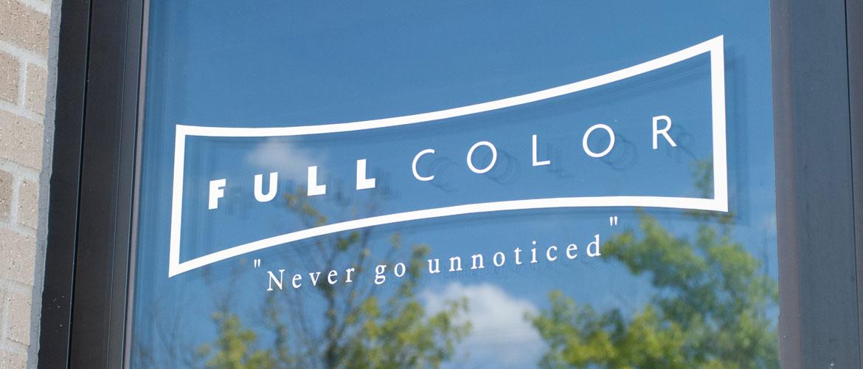 Full Color Darkroom Label